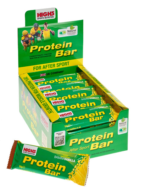 High5 ProteinBar Box Banana-Vanilla 25 x 60g